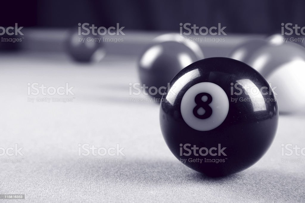 Billiards 01 stock photo