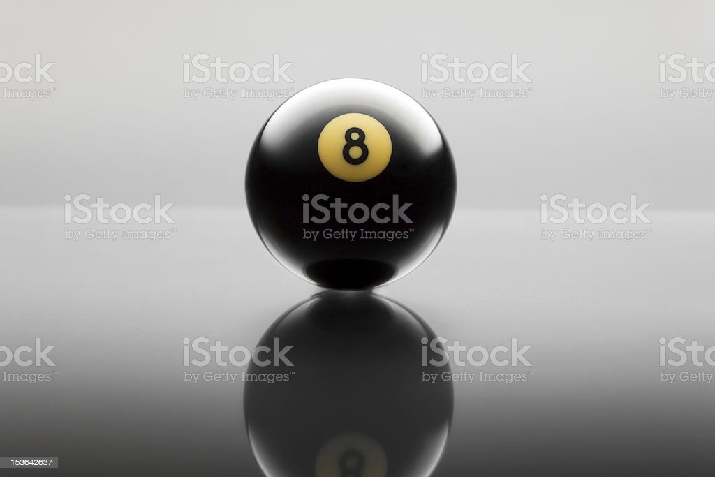 billiards ball stock photo