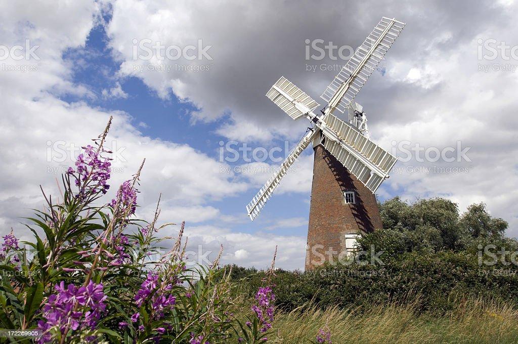 Billingford Mill stock photo