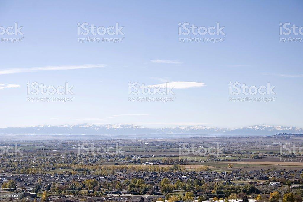 Billings, Montana royalty-free stock photo