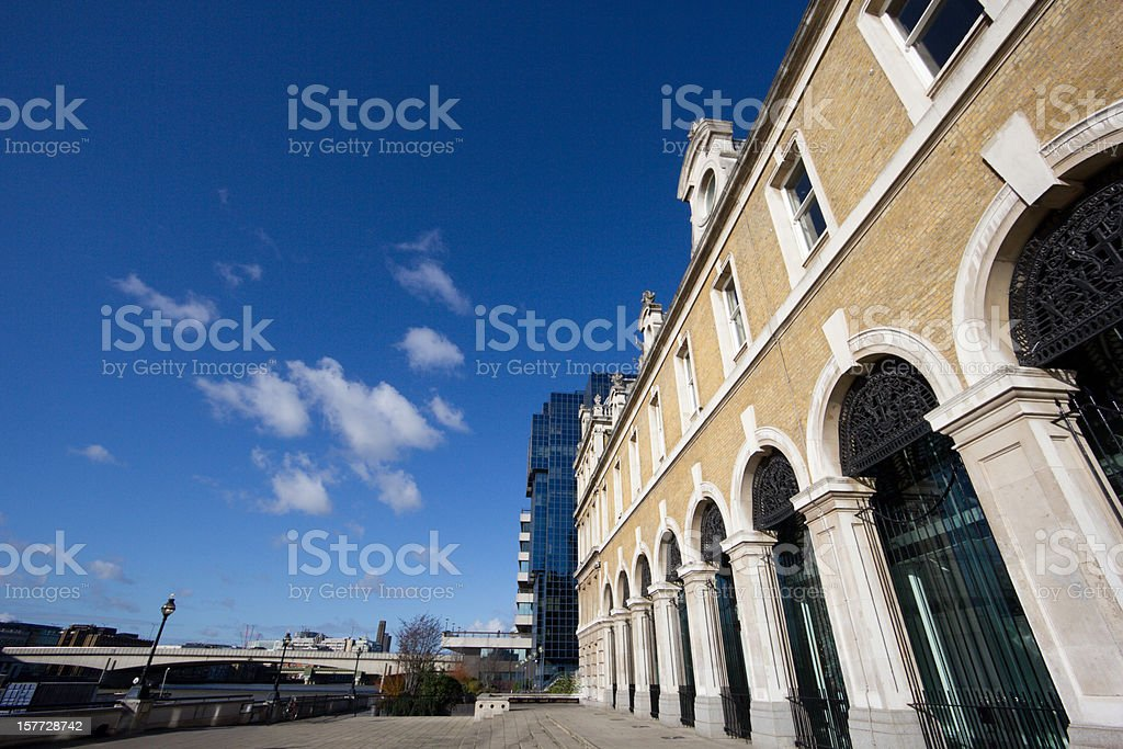 Billingsgate Fish Market in London, England stock photo