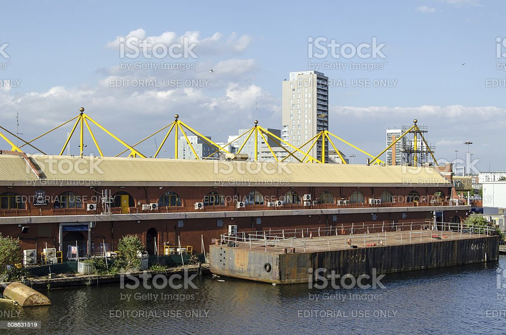 Billingsgate Fish Market, London stock photo