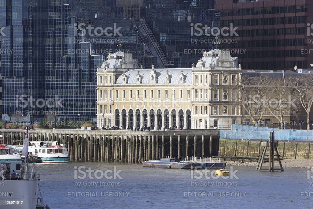 Billingsgate Hall in London, England stock photo