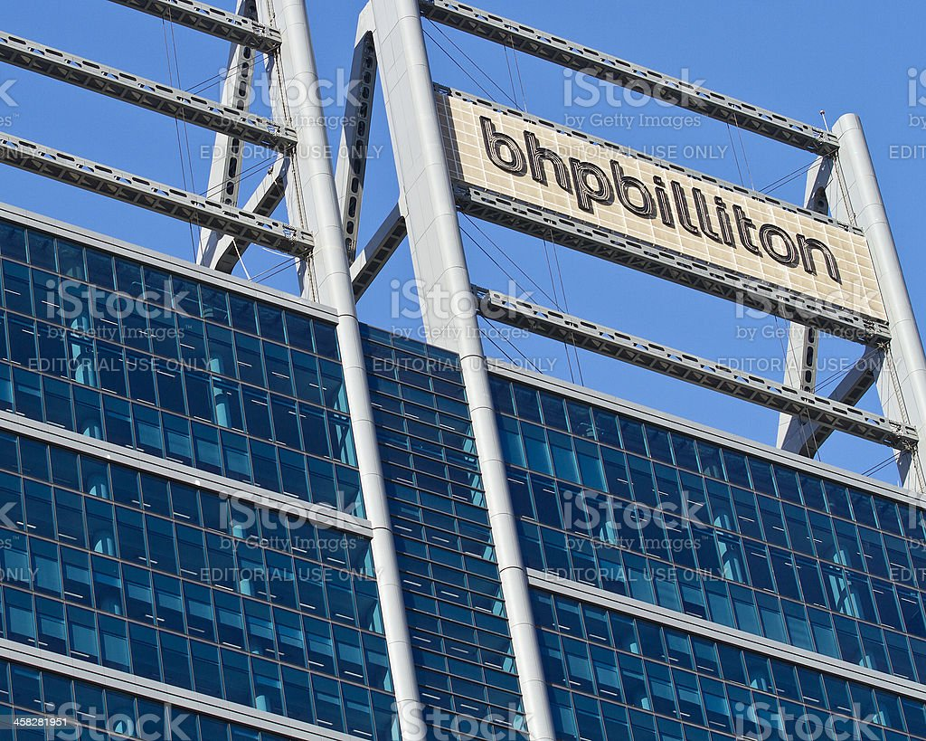 BHP Billiton stock photo