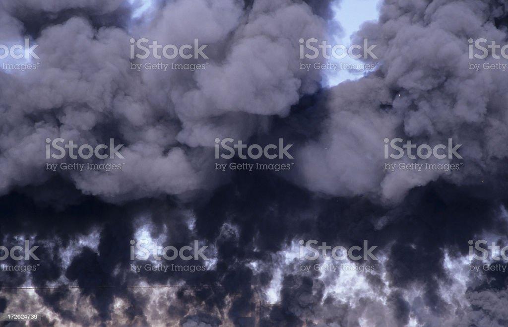 Billowing Smoke royalty-free stock photo