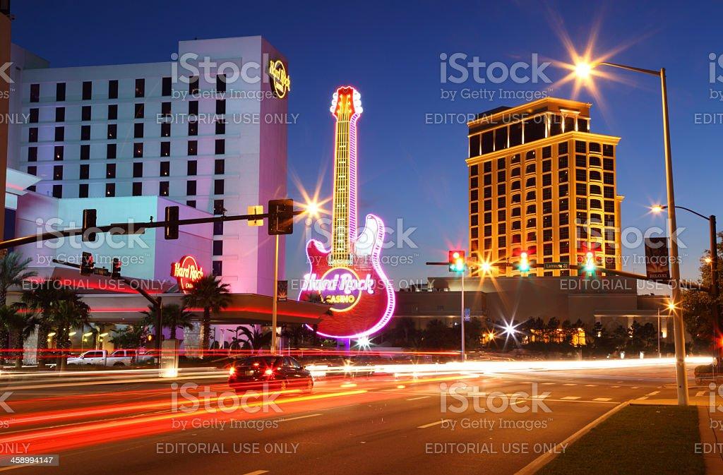 Biloxi Casinos stock photo