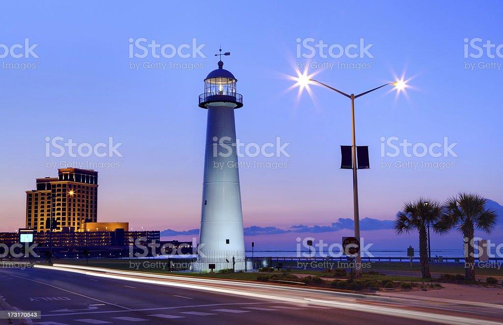 Biloxi Lighthouse stock photo
