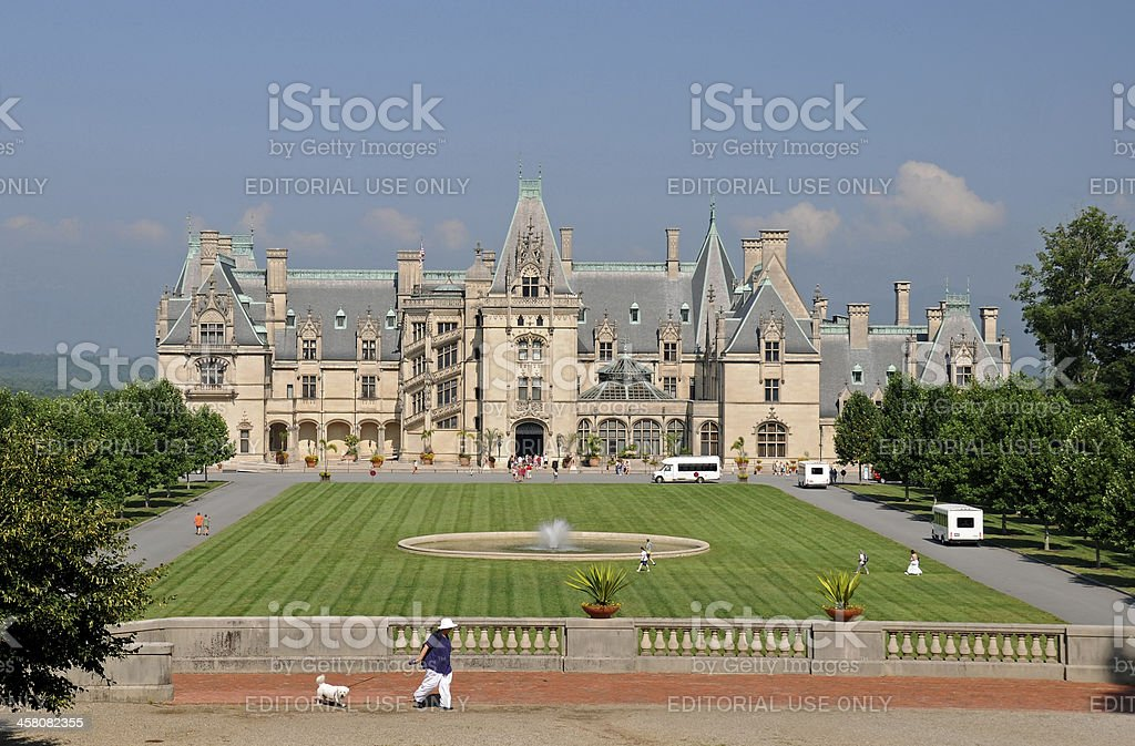 Biltmore Estate stock photo