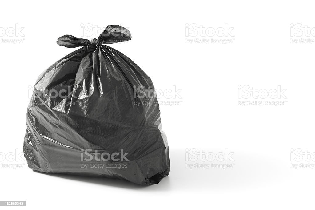 bin bag stock photo