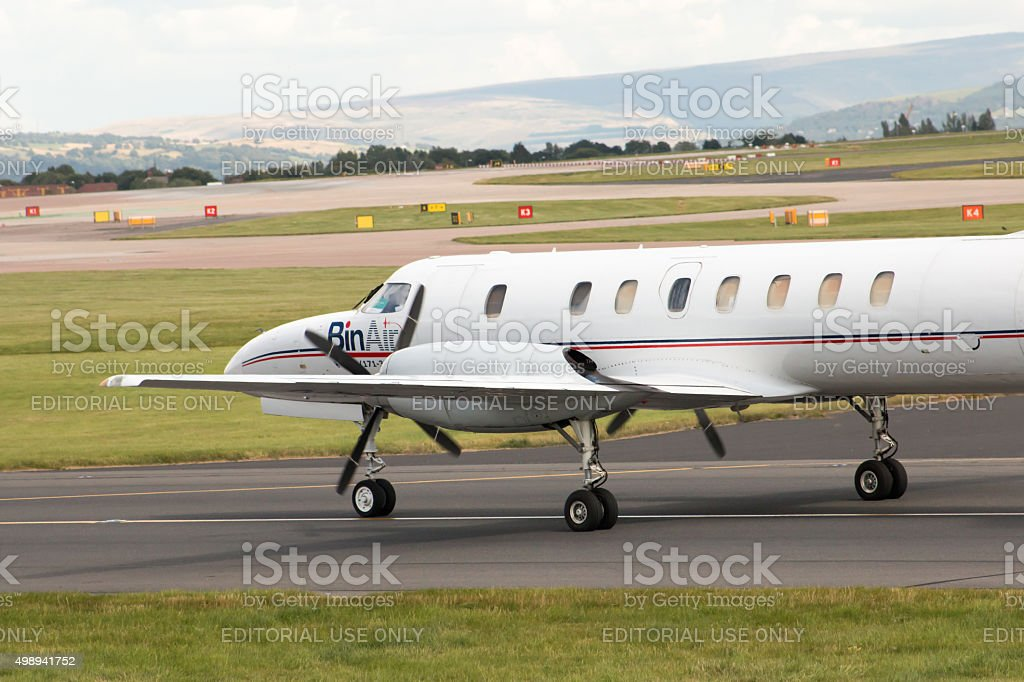 BinAir Fairchild Swearingen Metroliner stock photo