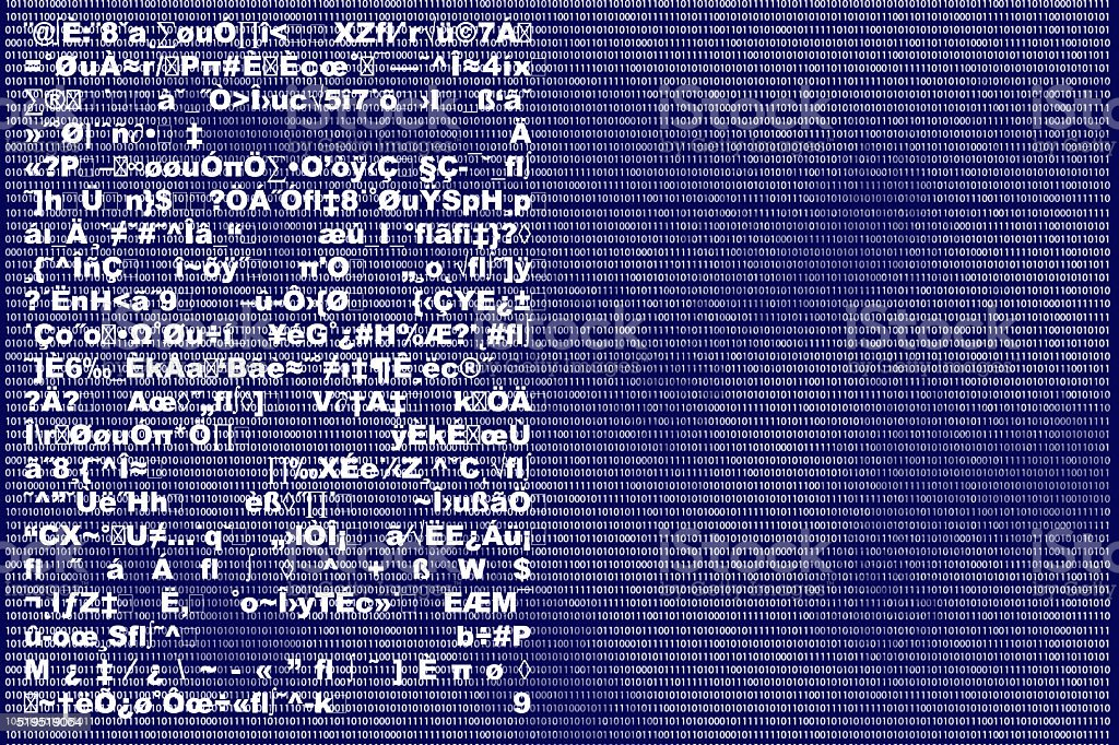 Binary Background stock photo