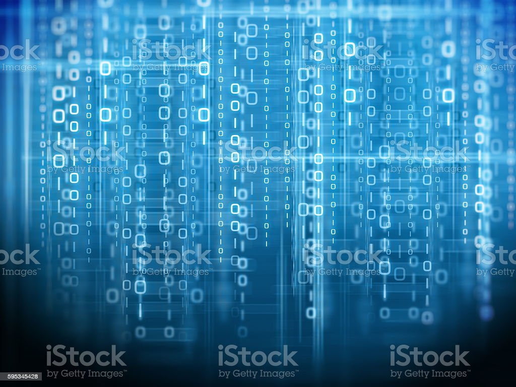 Binary code background royalty-free stock photo