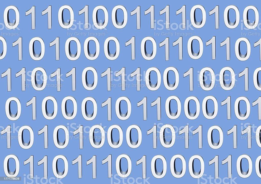 binary code royalty-free stock photo