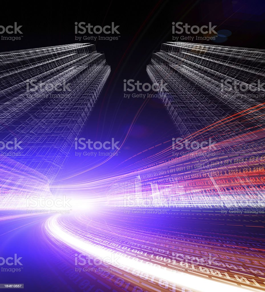 binary code royalty-free stock photo