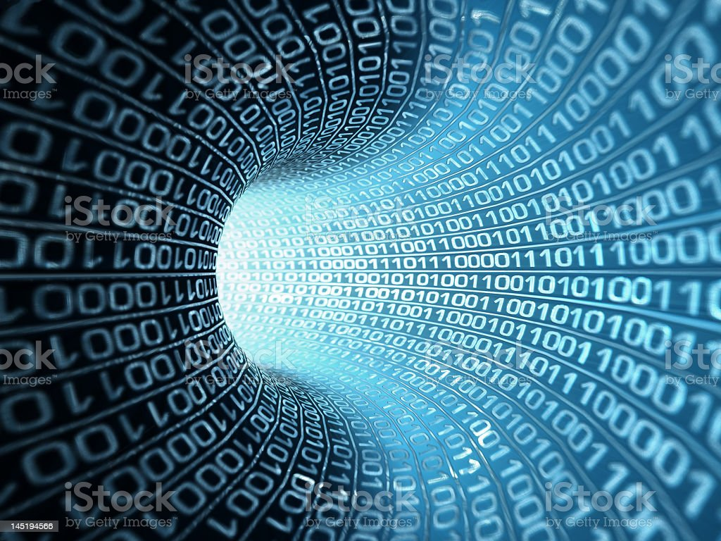 binary code, stock photo stock photo