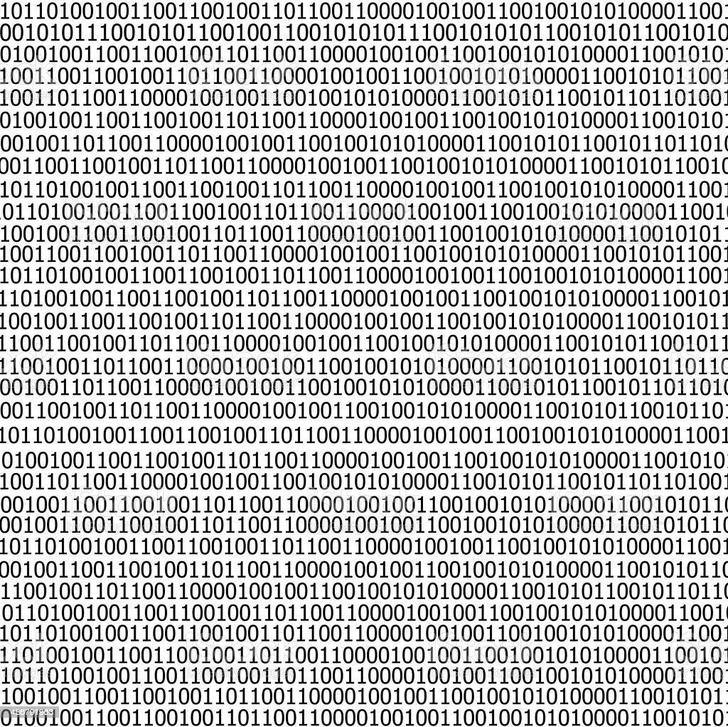 binary code stream background stock photo