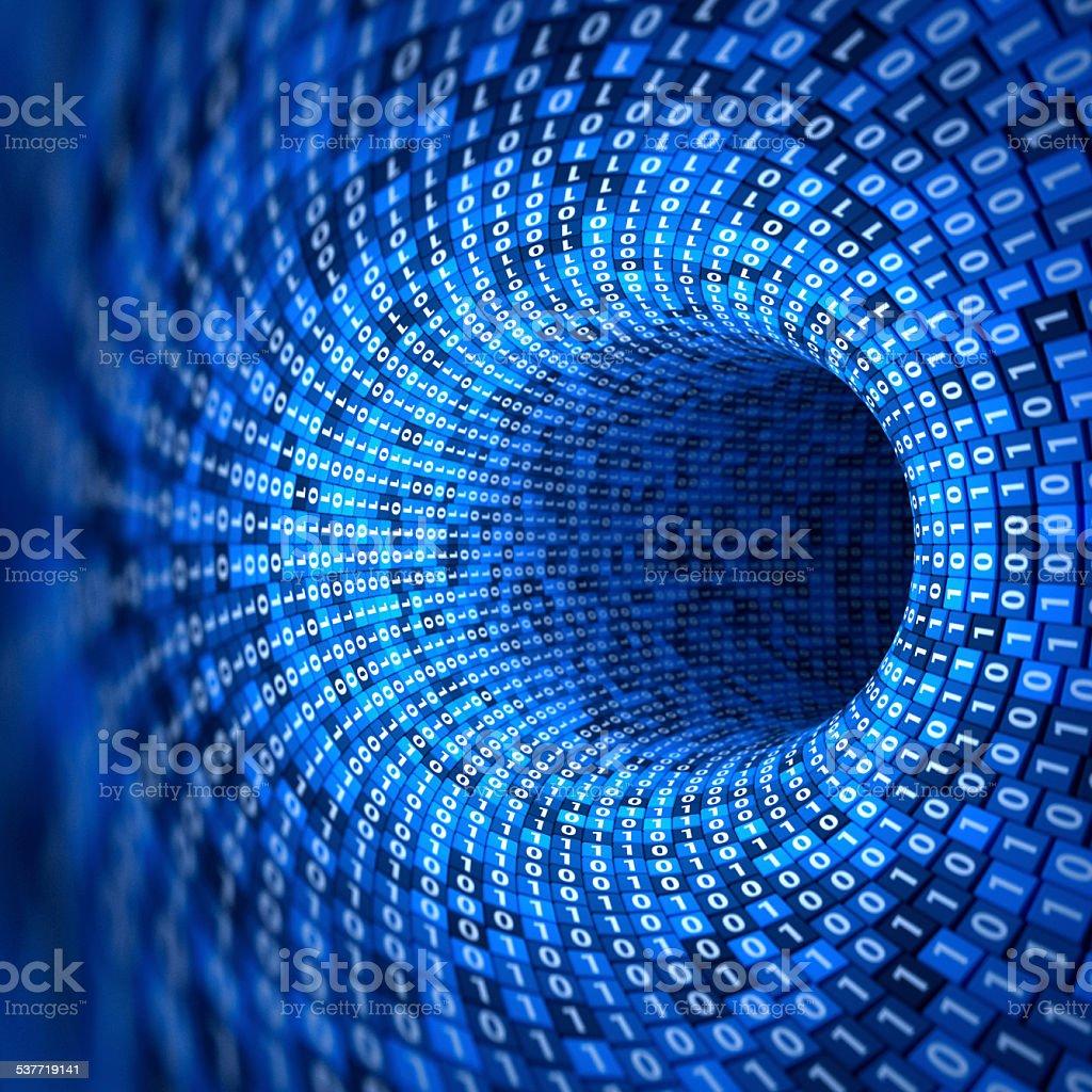 Binary Data stock photo