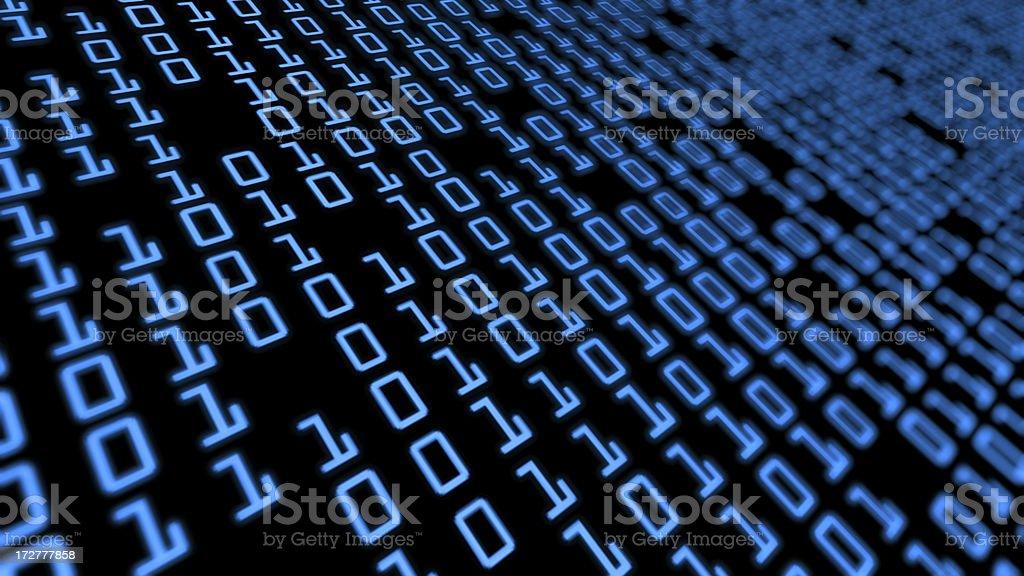 Binary grid royalty-free stock photo