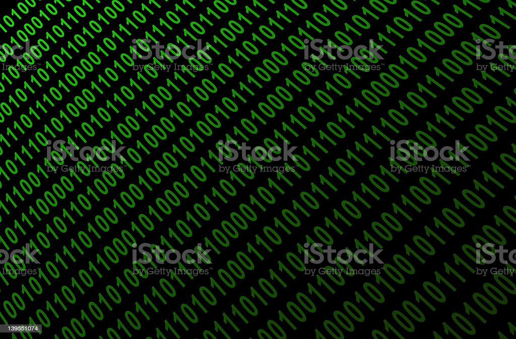 Binary Numbers royalty-free stock photo