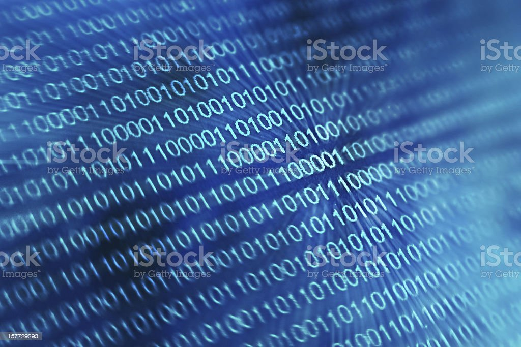 Binary stock photo