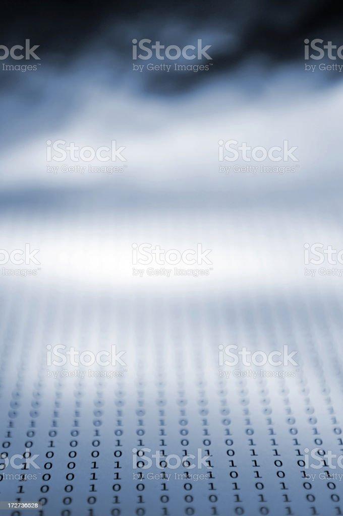 binary series royalty-free stock photo
