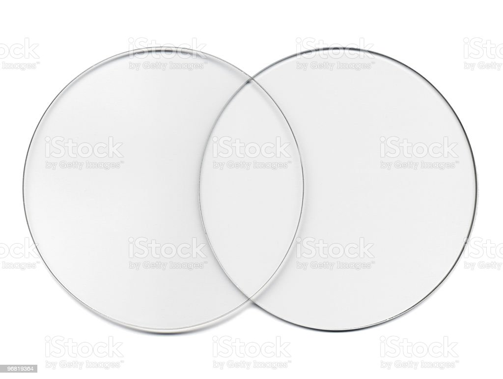 Binary Transparent Glass royalty-free stock photo