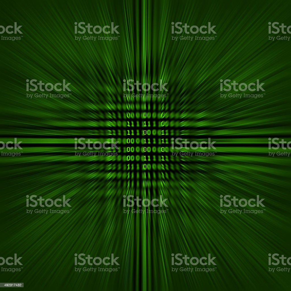Binary Vortex stock photo