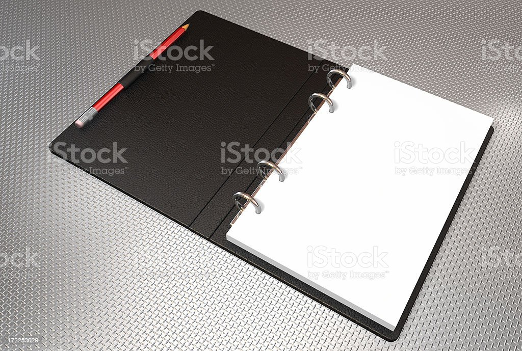 binder note book royalty-free stock photo