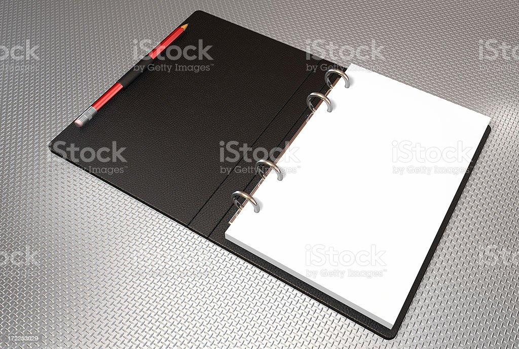 binder note book stock photo