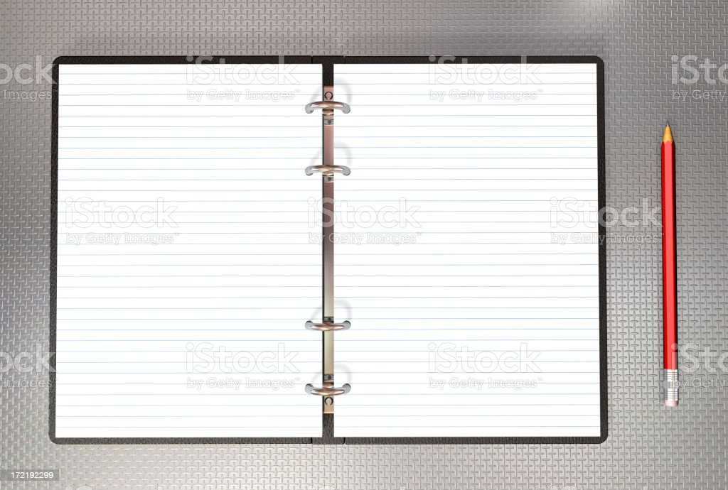binder note royalty-free stock photo