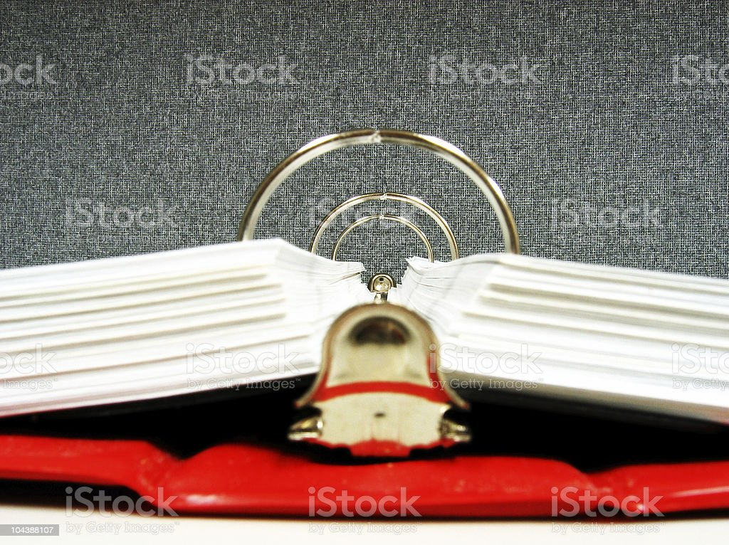 Binder tunnel royalty-free stock photo