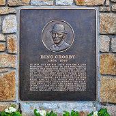 Bing Crosby Plaque, Pebble Beach, CA