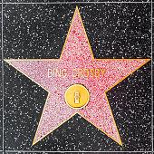 Bing Crosbys star on Hollywood Walk of Fame
