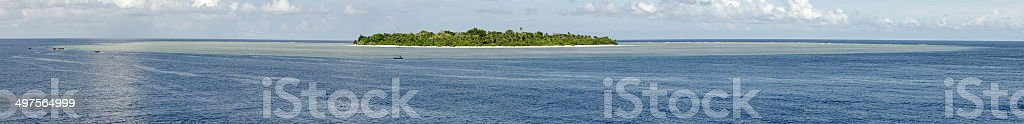 Bingkudu Island Indonesia stock photo