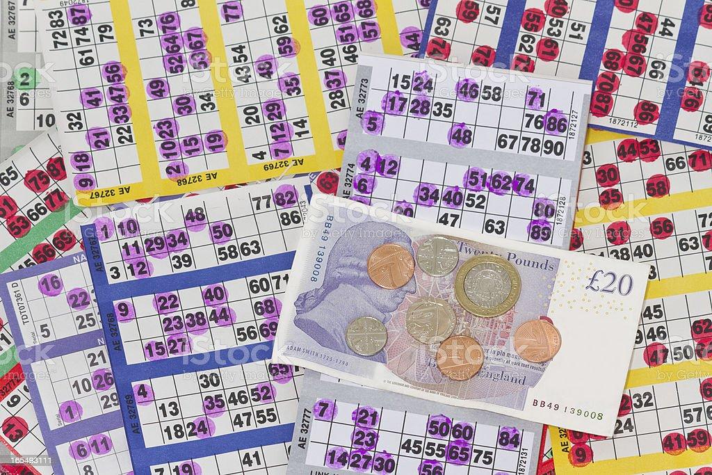 Bingo Award royalty-free stock photo