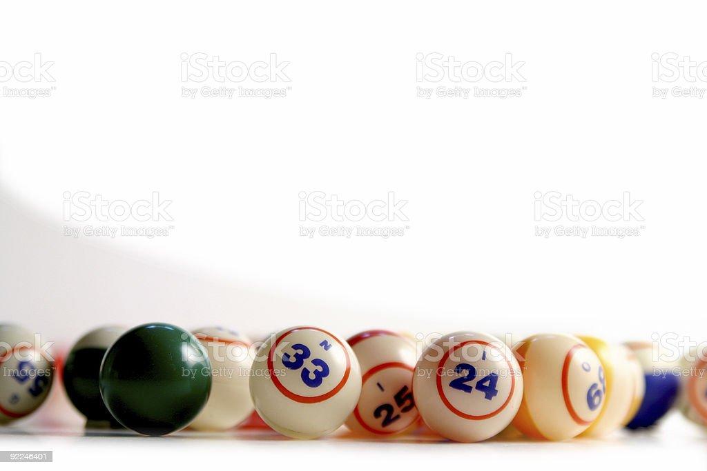 Bingo balls 4 royalty-free stock photo