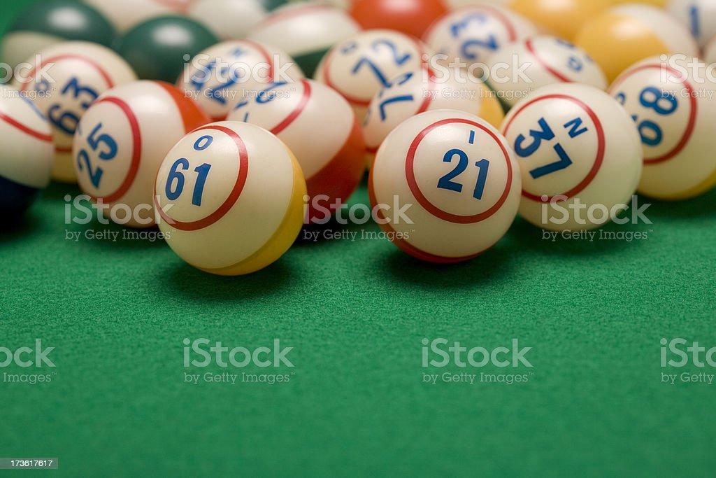 Bingo Balls royalty-free stock photo