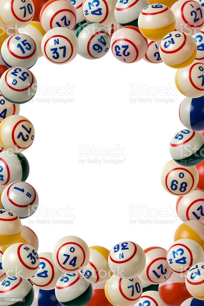 Bingo Frame stock photo