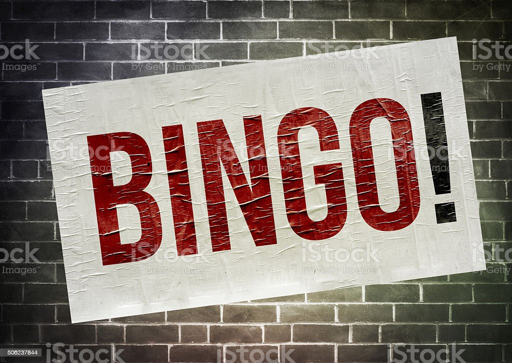 Bingo stock photo