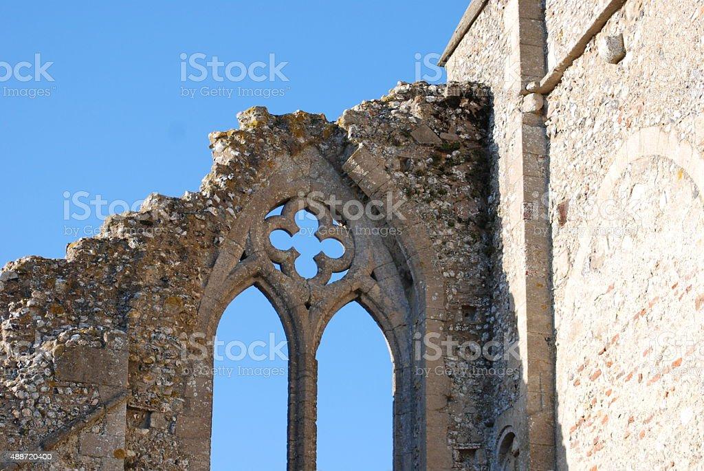 Binham Priory stock photo