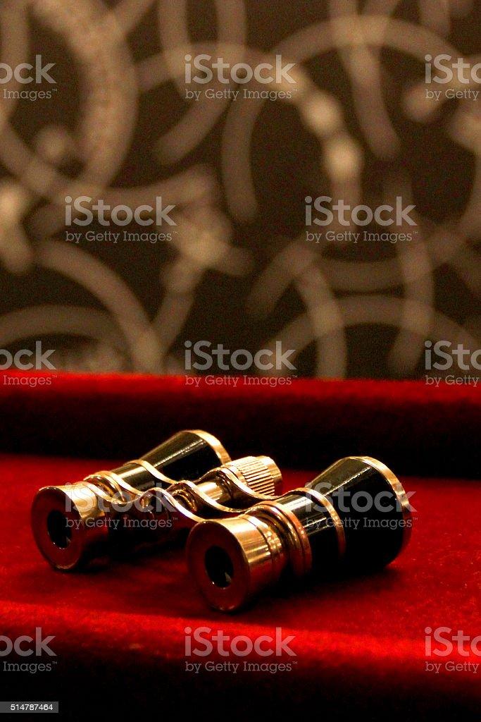 Binocular stock photo