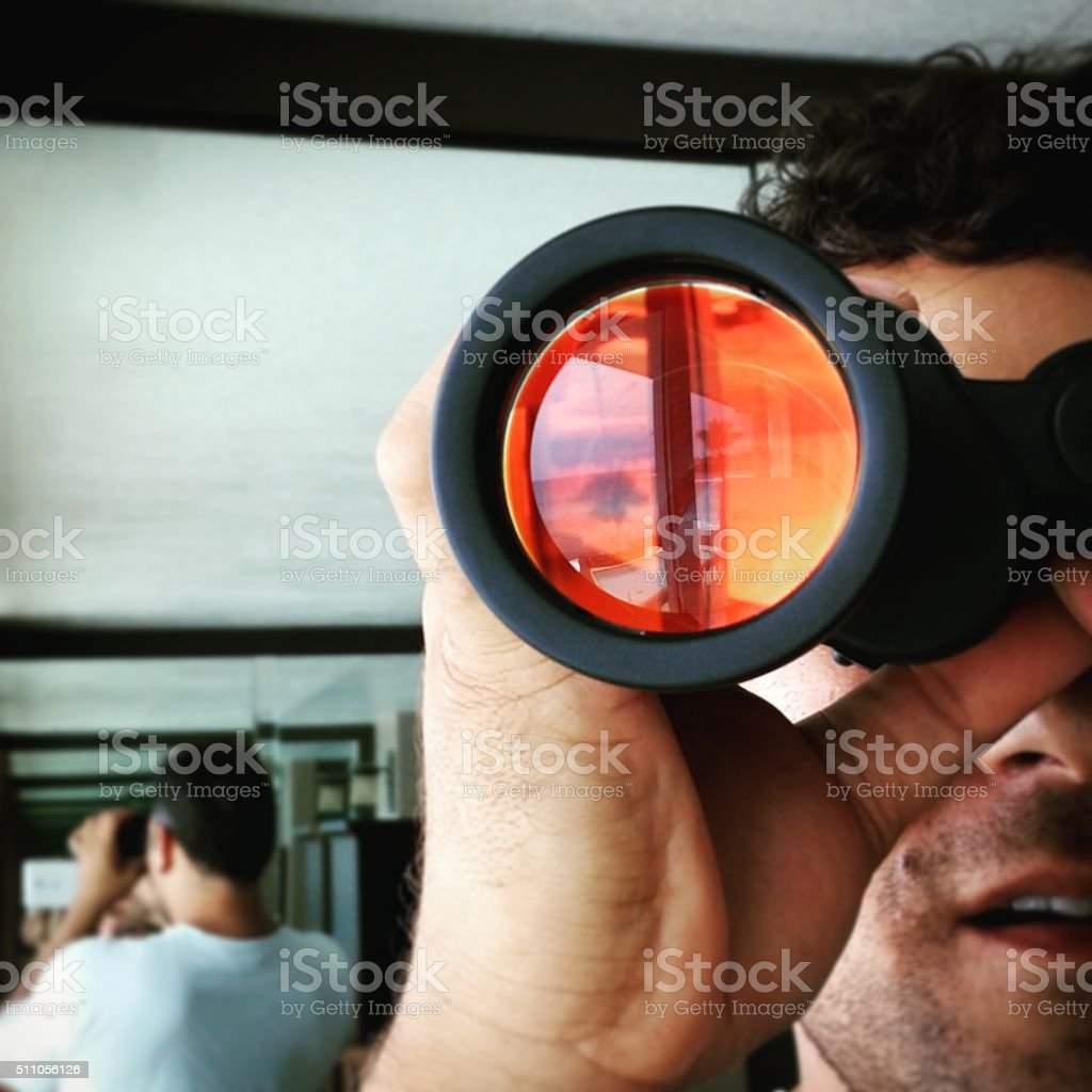 Binocular Vision stock photo