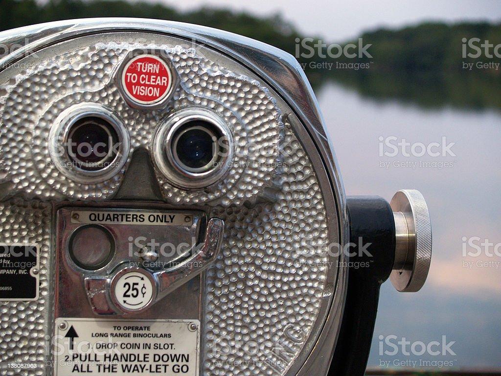 Binoculars 1 stock photo
