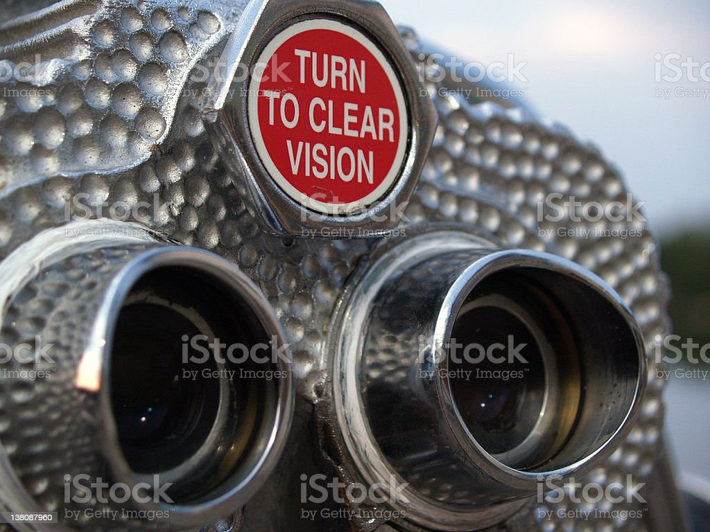 Binoculars 3 stock photo