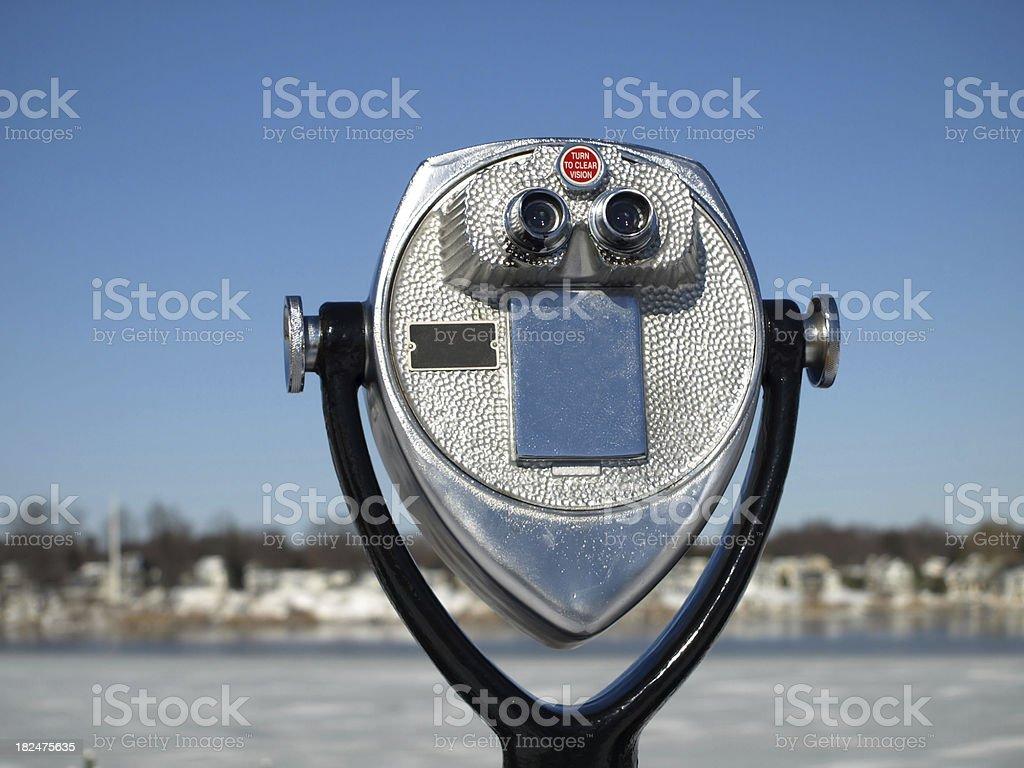Binoculars royalty-free stock photo
