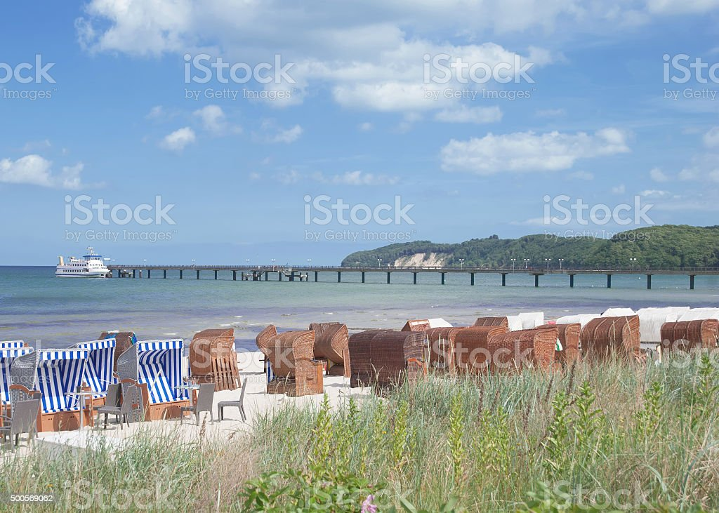 Binz,Ruegen Island,Germany stock photo