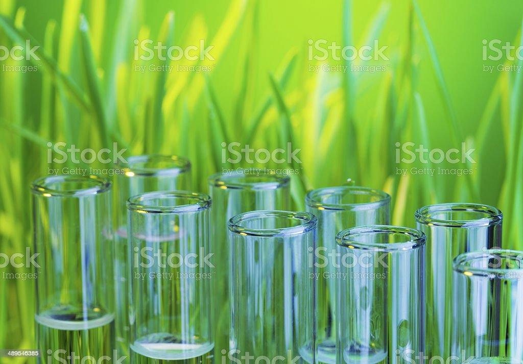 Bio chemistry stock photo