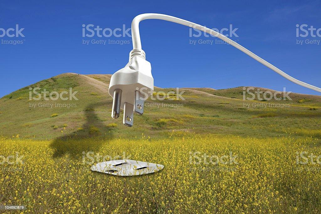Bio Fuel Renewable Energy Concept royalty-free stock photo