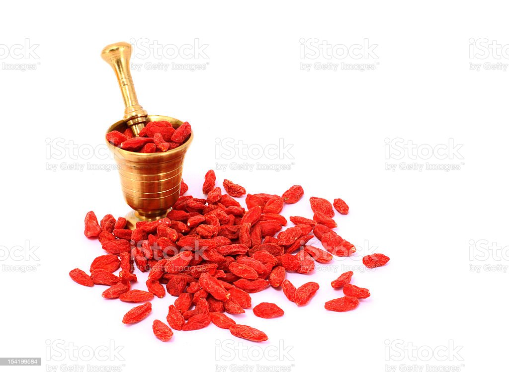 Bio Goji Berry royalty-free stock photo