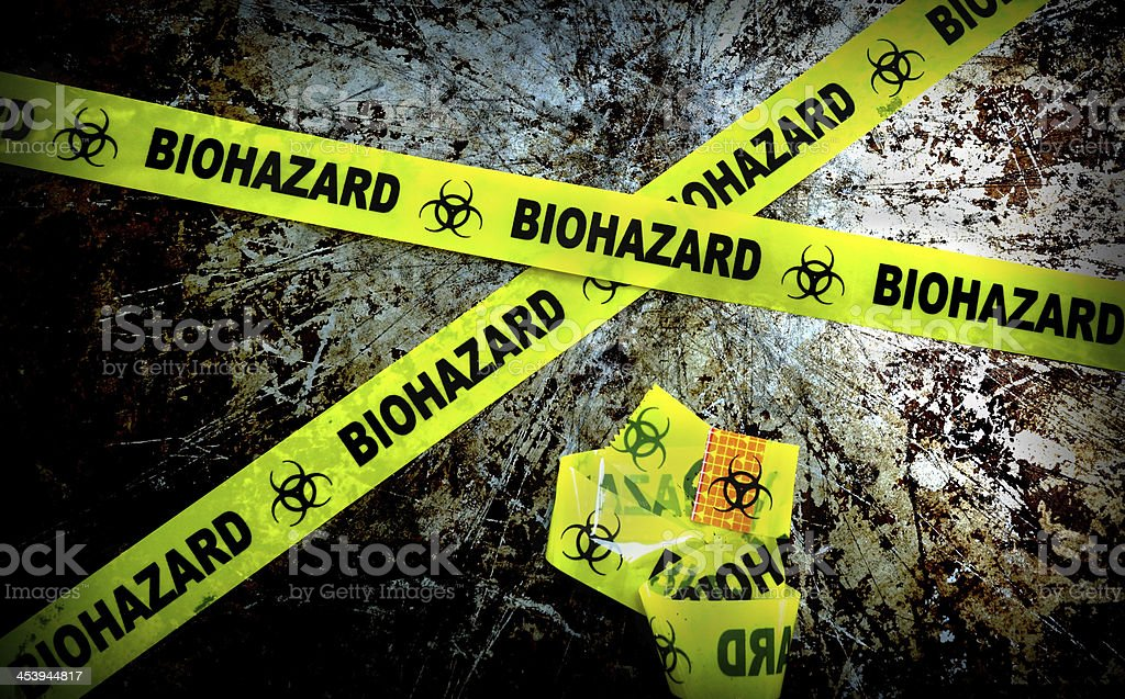 bio haz stock photo